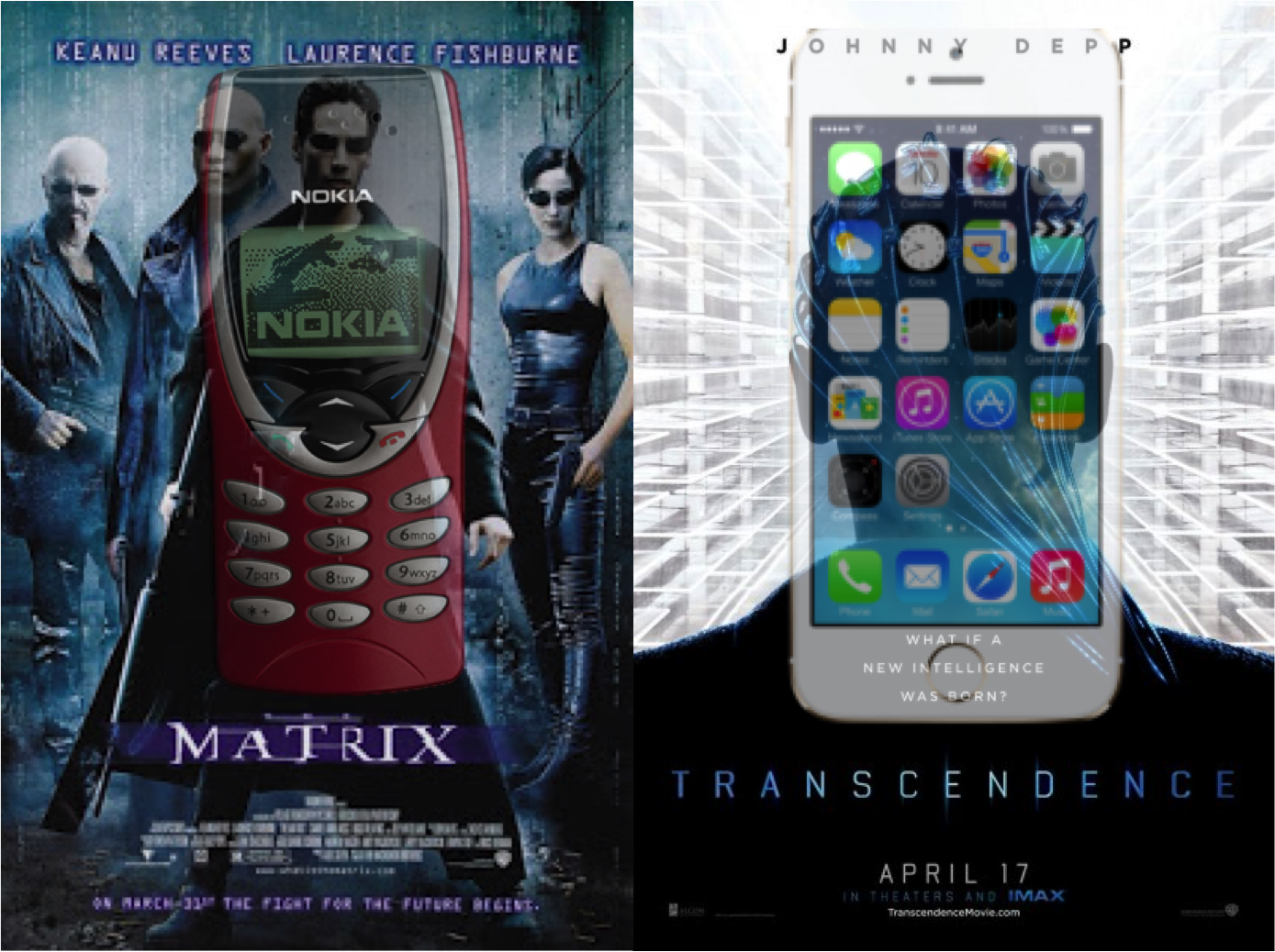 the matrix vs transcendence technologies