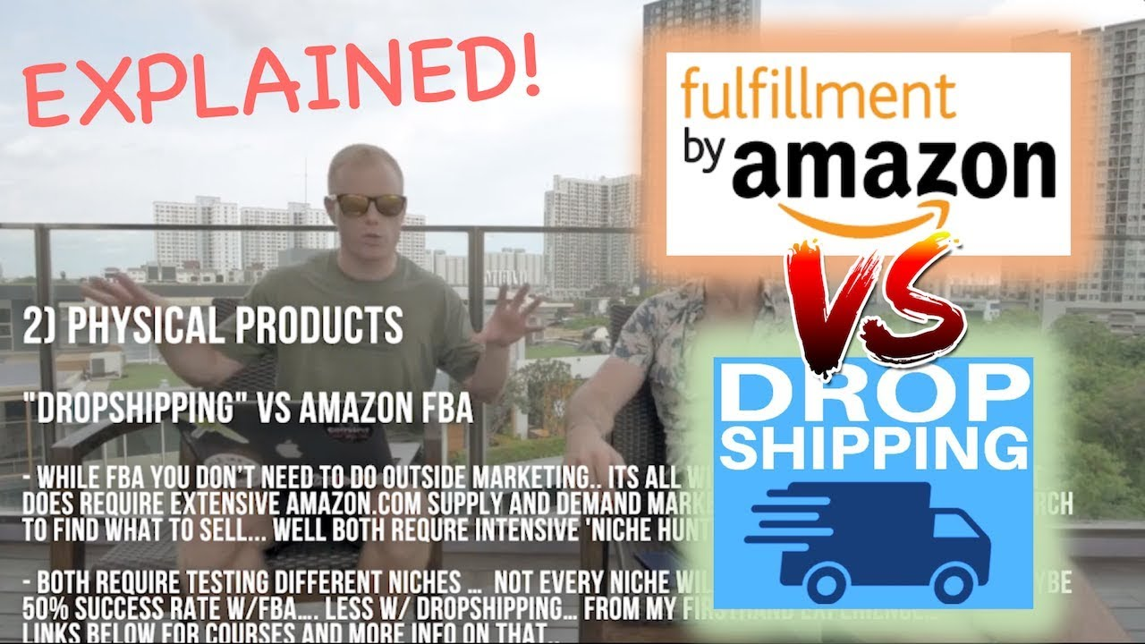 Amazon FBA vs Drop Shipping EXPLAINED! [Pros & Cons: Private Label